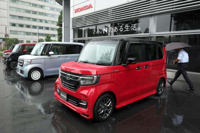 Honda est présent dans le créneau des kei... (AFP, Kazuhiro Nogi)