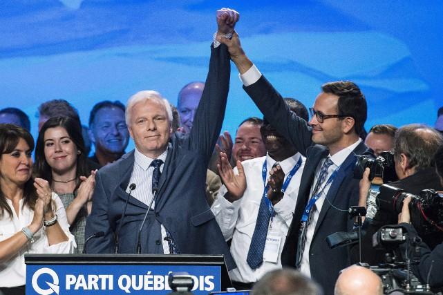 Jean-François Lisée a obtenu l'appui de 92,8% des... (PC)