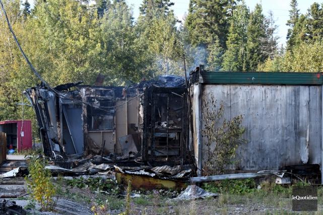 Un nouvel incendie criminel a été allumé dans... (Le Quotidien, Rocket Lavoie)
