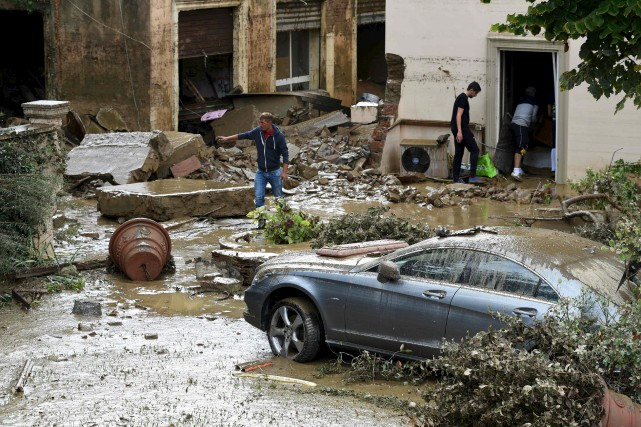 Au moins six personnes ont perdu la vie... (AFP)