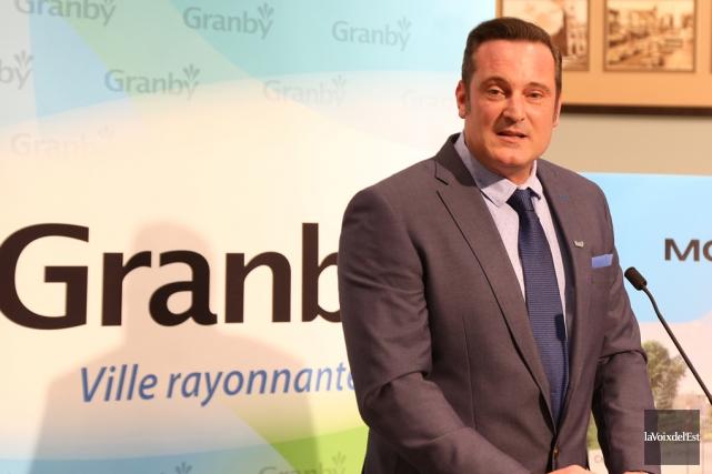Le maire de Granby, Pascal Bonin... (archives La Voix de l'Est)
