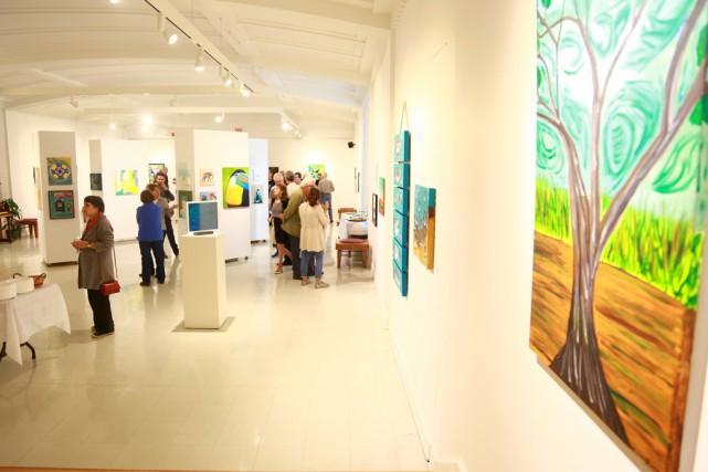 Cette année, les participants del'exposition annuelle du collectif... (Catherine Trudeau)