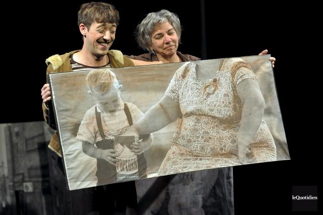 Le Théâtre CRI en tournée à Roberval.... (Archvies le Quotidien, Rocket Lavoie)