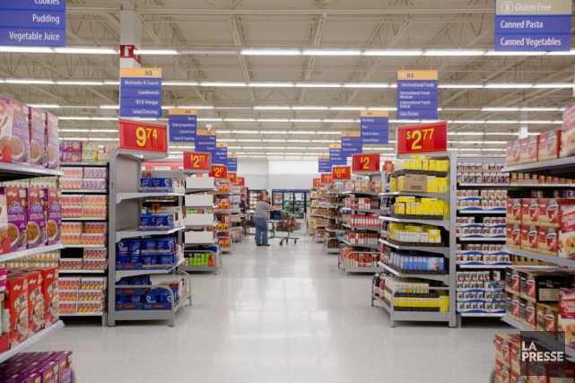 Walmart a confirmé àLa Presseque l'inauguration officielle aura... (PHOTO NINON PEDNAULT, ARCHIVES LA PRESSE)