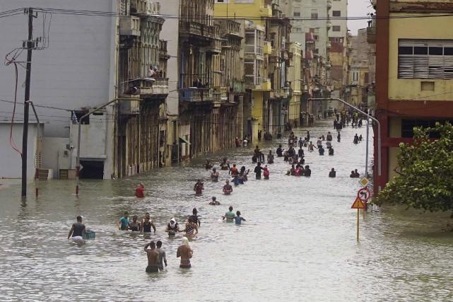 La Havane, 10 septembre 2017.... (AP)