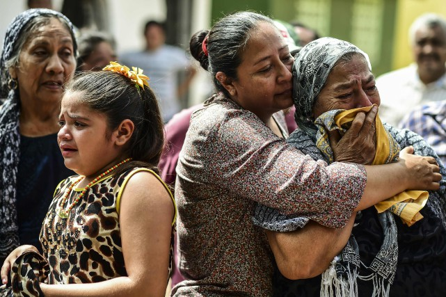 Le gouverneur d'Oaxaca a indiqué qu'au moins 12... (AFP)