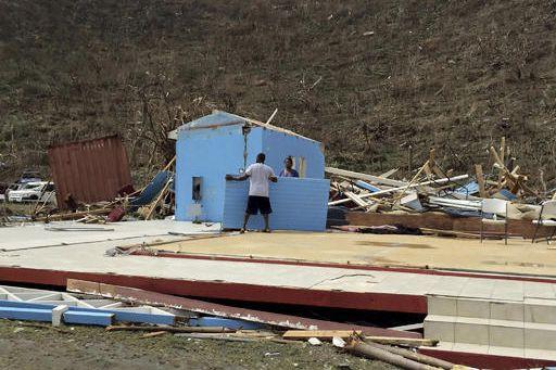 Le gouvernement du Canada a décidé d'envoyer une équipe dans les Caraïbes afin... (Photo AP)