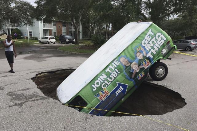 La menace d'Irma est venu non seulement du... (AP, Joe Burbank)