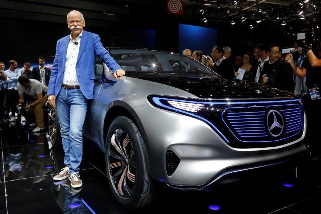 Dieter Zetsche, grand patron de Daimler et PDG... (Photo : REUTERS)