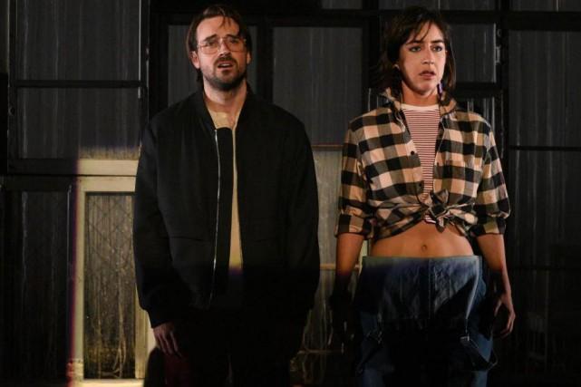 David Laurin et Alice Pascual dans la pièce... (Photo Caroline Laberge, fournie par la production)