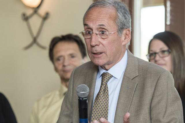 L'aspirant maire Philippe Jonnaert avoue sans difficulté être... (Spectre média: Jessica Garneau)