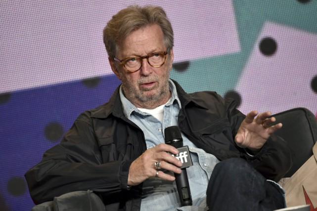 Eric Clapton... (Photo AP)