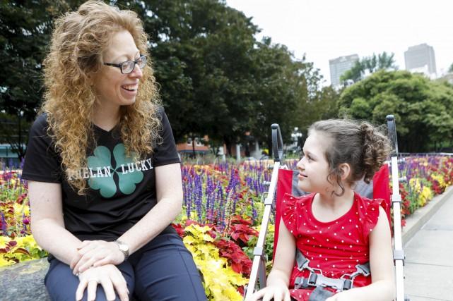 Sarah est atteinte du syndrome de Phelan-McDermid, une... (Le Soleil, Caroline Grégoire)