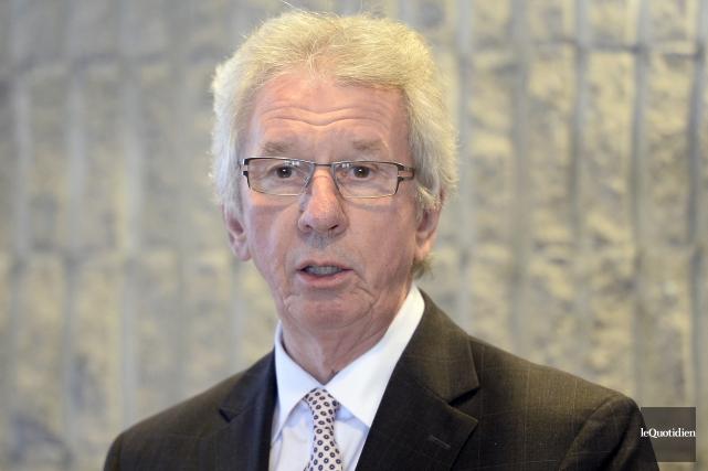 Jean-Pierre Blackburn est conscient que son programme sur... (Photo Le Quotidien, Jeannot Lévesque)