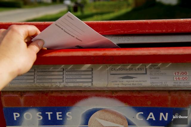 Nous avions trois boîtes postales incluant 39 casiers (...) sur la petite rue... (Archives, La Tribune)