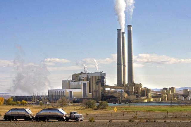 Labourse du carbone a connu des ratés depuis... (AP, Al Hartmann)