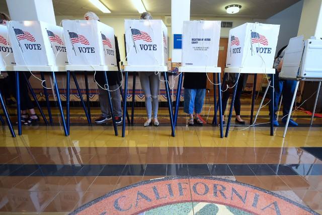 La Californie, bastion démocrate, était reléguée, en raison... (ARCHIVES AFP)