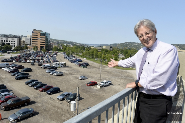 Le maire de Saguenay, Jean Tremblay, a expliqué... (Photo Le Quotidien, Jeannot Lévesque)