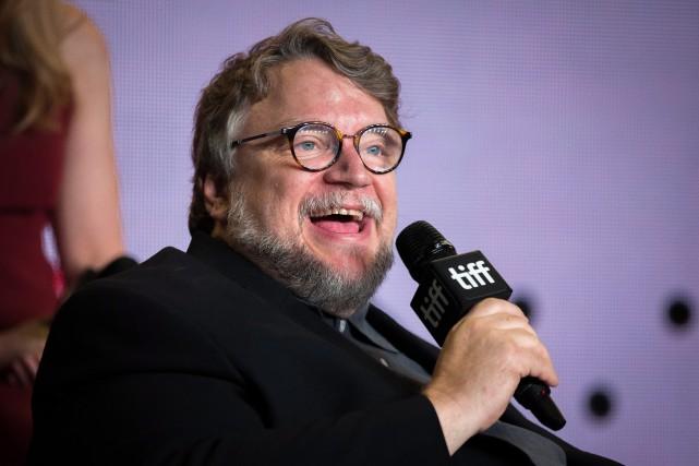 Guillermo del Toro lors de sa conférence de... (PHOTO PC)