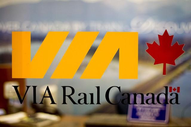 Via Rail communique avec ses clients qui pourraient avoir reçu des pourriels... (BLOOMBERG)