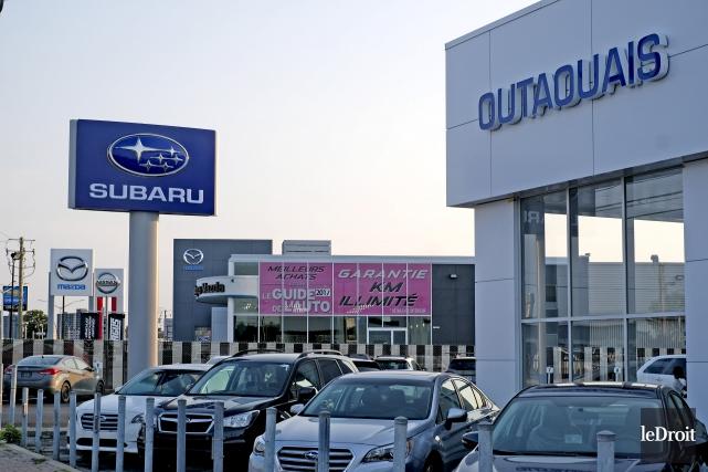 Le concessionnaire automobile Subaru Outaouais a récemment été... (Patrick Woodbury, Le Droit)