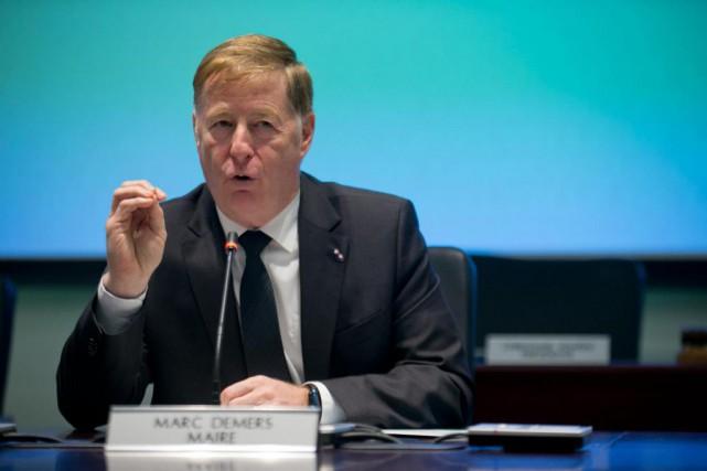 Le maire de Laval, Marc Demers, briguera un... (Photo David Boily, Archives La presse)