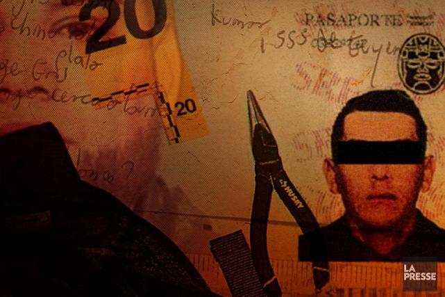 Un réseau international de criminels sud-américains fichés par le FBI, formé... (Photomontage La Presse)