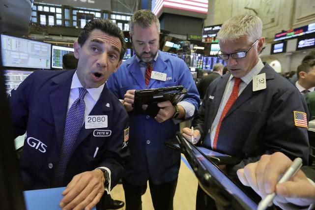 «Avec ces rendements plus élevés, les valeurs financières... (PHOTO ARCHIVES AP)