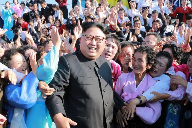 Kim Jong-Un... (AFP)