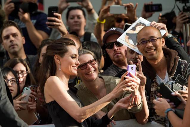 Angelina Jolie... (PHOTO VALÉRIE MACON, AGENCE FRANCE-PRESSE)