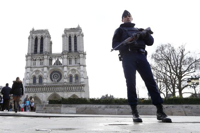 Sur les douze projets d'attentats déjoués, trois n'avaient... (Photo archives AP)