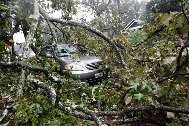L'ouragan Irma a laissé d'importante traces dans l'État... (PHOTO Tami Chappell, REUTERS)