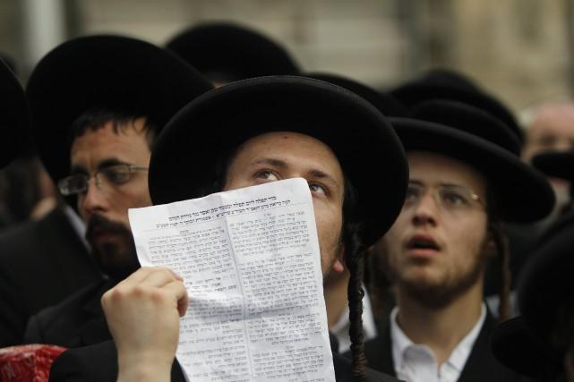 Les dirigeants ultra-orthodoxes ont fait part de leur... (ARCHIVES REUTERS)