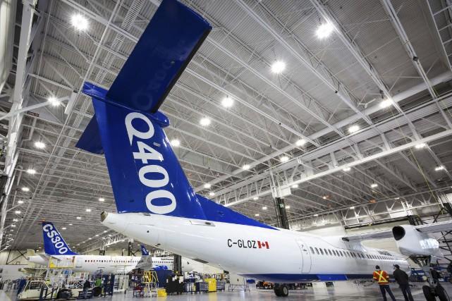 La société montréalaise a annoncé qu'elle réduirait les... (Photo fournie par Bombardier)