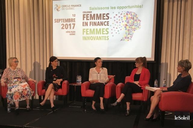 Sylvie Paquette, ex-PDG de Groupe Desjardins assurances générales;... (Le Soleil, Yves Therrien)