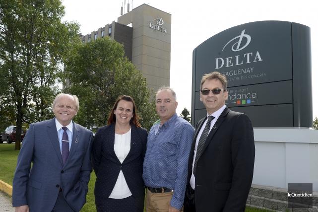 L'hôtel Delta de Jonquière est passé à des... (Photo Le Quotidien, Jeannot Lévesque)