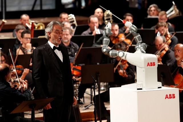 YuMi peut certes diriger des morceaux mais ne... (PHOTO REUTERS)