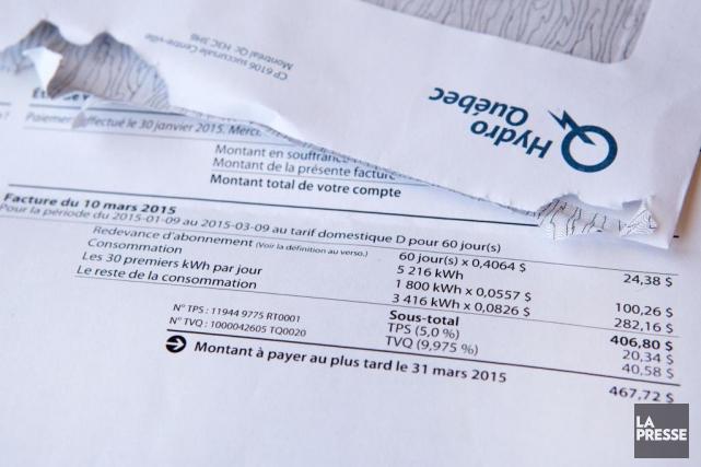 Finalement, les clients d'Hydro-Québec ne pourront pas payer leurs factures... (PHOTO ROBERT SKINNER, ARCHIVES LA PRESSE)