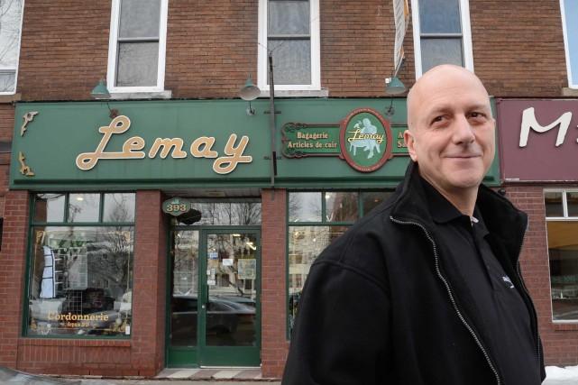 René Lecours, propriétaire de deux commerces à Shawinigan,... (Sylvain Mayer, Le Nouvelliste)