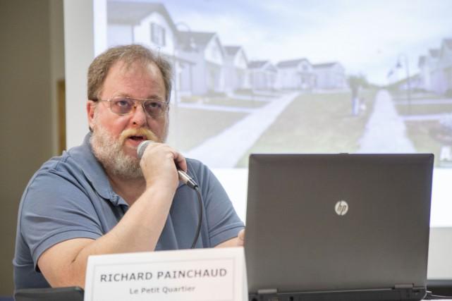 L'initiateur du projet de coopérative, Richard Painchaud, a... (Spectre Média, Marie-Lou Béland)