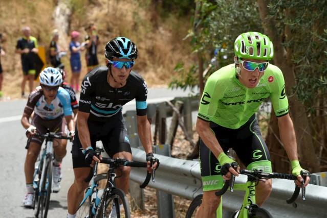 Le cycliste gatinois Michael Woods a terminé septième... (Courtoisie, Graham Watson)