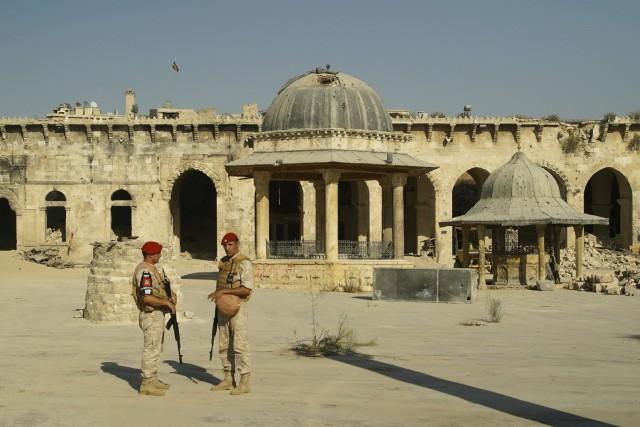 Fondée sous les Omeyyades et reconstruite au XIIe... (AP)