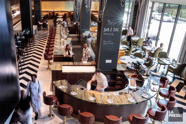 Le nouveau restaurant du Fairmont Le Reine Elizabeth,... (Photo Hugo-Sébastien Aubert, La Presse)