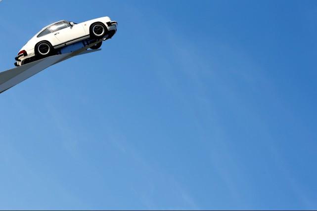 La Porsche 911 est reconnaissable entre toutes depuis... (Photo : REUTERS)