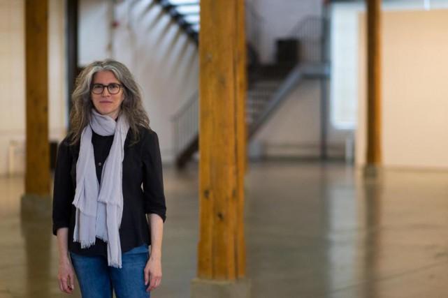 L'artiste JanetWerner présente l'exposition Sticky Pictures à la... (Photo François Roy, La Presse)