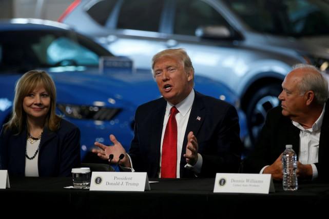 La renégociation de l'Accord de libre-échange nord-américain fait... (Photo : REUTERS)