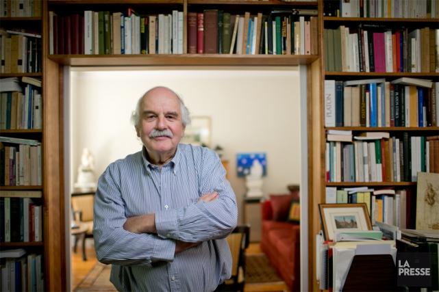 Auteur de nombreux ouvrages et d'articles savants, commentateur,... (PHOTO DAVID BOILY, LA PRESSE)
