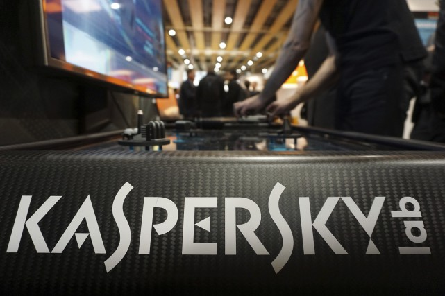 Kaspersky, qui réalise 85% de ses ventes à... (Photo ARCHIVES AP)