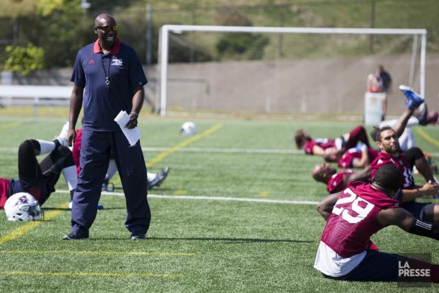 Le directeur général Kavis Reed a dirigé son... (Photo François Roy, La Presse)