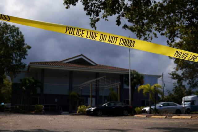 Les victimes demeuraient dans le Rehabilitation Center, à... (PHOTO REUTERS)